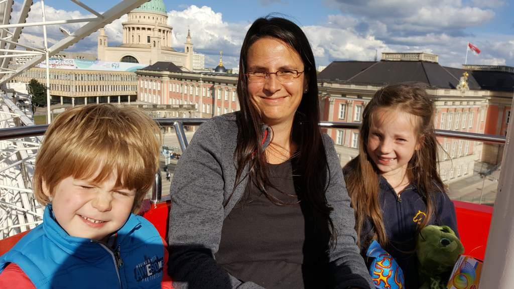 Über den Dächern von Potsdam